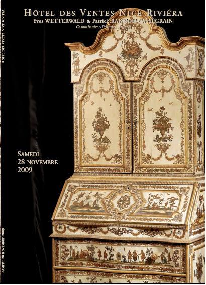 Vente aux enchères du samedi 28 Novembre 2009